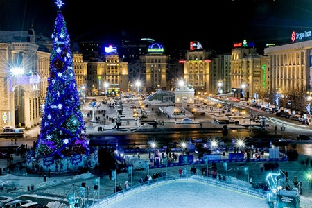 new year in Kiev (rent appartment)